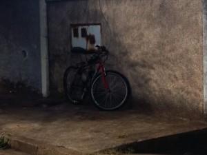 Bicicleta que seria furtada